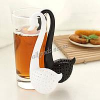 Чайное ситечко заварник Лебедь