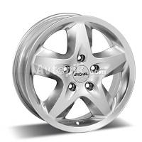 Литые диски Ronal R44 R16 W6.5 PCD5x130 ET60 DIA84.1 (crystal silver)