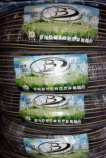 Шланг поливочный силиконовый БОРИКА Рэйн 1дюйм 25м ( BORIKA Rain )