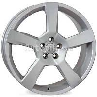 Литые диски WSP Italy Volvo (W1256) Baltica R17 W7.5 PCD5x108 ET55 DIA63.4 (matt silver)