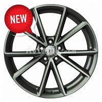 Литые диски WSP Italy Audi (W569) Aiace R19 W8.5 PCD5x112 ET28 DIA66.6 (anthracite polished)