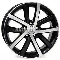 Литые диски WSP Italy Volkswagen (W460) Rheia R16 W6.5 PCD5x112 ET50 DIA57.1 (glossy black polished)