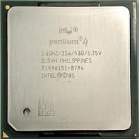 Процессор Intel Pentium 4 (1.60 GHz, 256K Cache, 400 MHz)