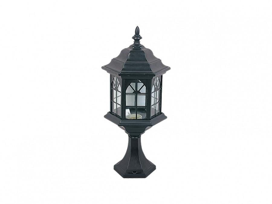 Светильник садовый  DELUX PALACE В04 60 E27 черный