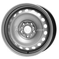 Стальные диски Кременчуг ГАЗ 3110 R15 W6.5 PCD5x108 ET45 DIA58.1 (белый)