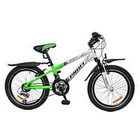 """Детский спортивный велосипед PROFI 20"""" (XM204C) WHITE-GREY"""