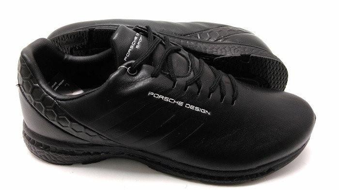 Кроссовки мужские Adidas Porsche Design New  кожа черные