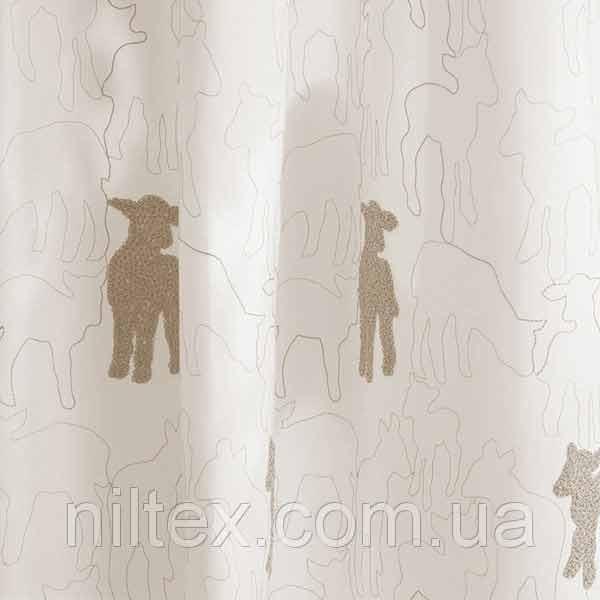 """Штори для дитячої кімнати """"Вовняні овечки"""" 866048"""