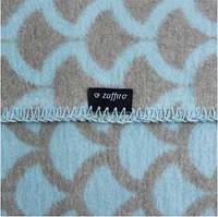 Одеяло детское двухстороннее в полукруг ТМ Womar  75х100 см 100%  хлопок