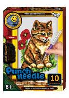 Набор для творчества Ковровая вышивка «Punch Needle» Кот