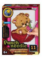 Набор для творчества Ковровая вышивка «Punch Needle» Котенок