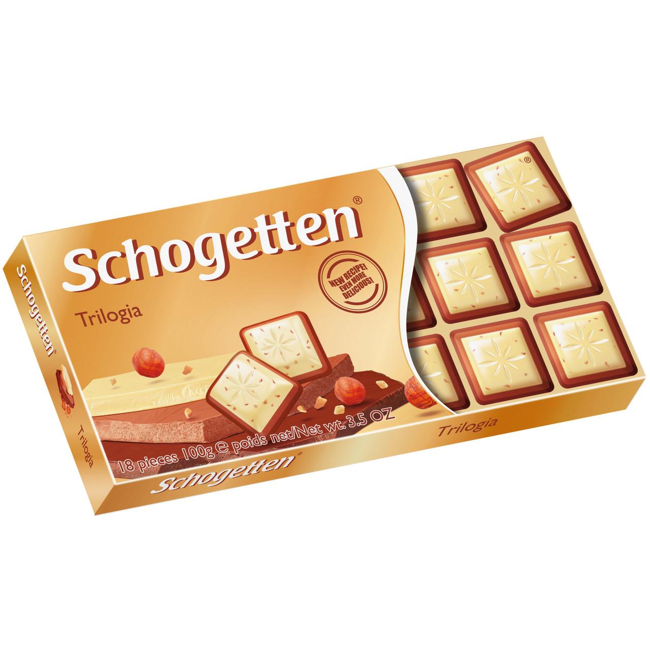 Шоколад Schogetten Trilogia 100 гр.