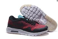 Кроссовки мужские Nike Air Max 87 Ultra Flyknit (red/black) - 51