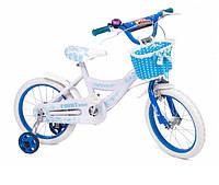 """Детский двухколесный велосипед ToyBiz 16"""" (16-TZ-006 ГОЛУБОЙ)"""