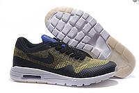 Кроссовки мужские Nike Air Max 87 Ultra Flyknit (green/black) -