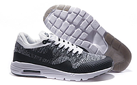 Кроссовки мужские Nike Air Max 87 Ultra Flyknit (grey/black)