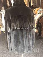 Мужская куртка из норки, шоу рум г. Киев цвет натуральный black, 50-52 размер в наличии