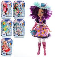 Кукла DH 2123 EAH, Ever Afler High, 27 см, шарнирная, кольцо, расческа, 6 видов, в слюде, герои мультиков