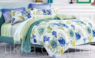 Полуторное постельное белье ранфорс Вилюта 12653