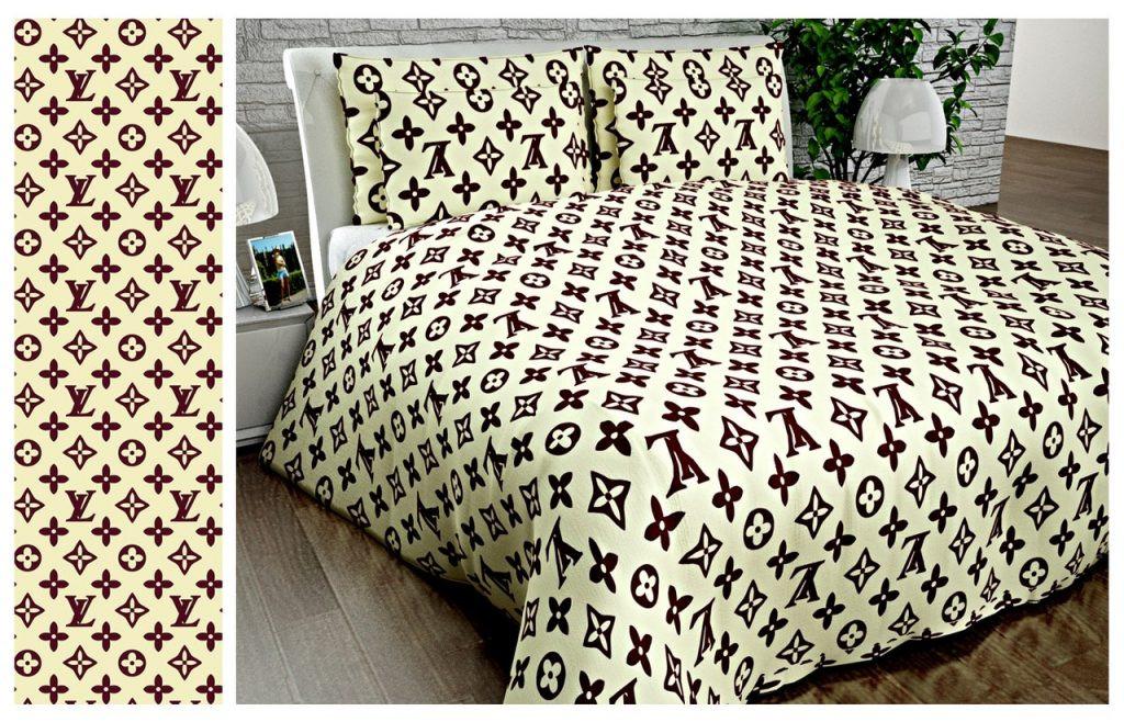 Купить постельное белье louis vuitton