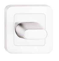 Фиксатор санузловый WC серебро матовое