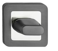 Фиксатор санузловый  WC хром/графит