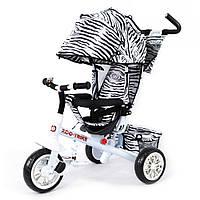 Детский велосипед трехколесный TILLY ZOO (BT-CT-0005 WHITE)