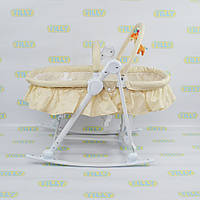 Детский шезлонг-люлька TILLY (BT-BB-0003 BEIGE)