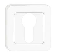 Накладка под цилиндр (ключ) серебро матовое