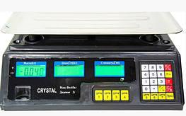 Торгові електронні ваги Crystal