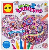 Набор для творчества ALEX Искусство: Цветные фонарики (196N)