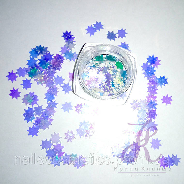 Битое стекло нарезное белое в ассортименте (26 видов)