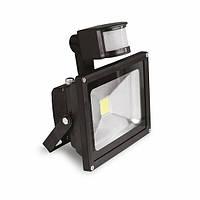 EUROELECTRIC LED COB Прожектор с датчиком движения 10W 6500K