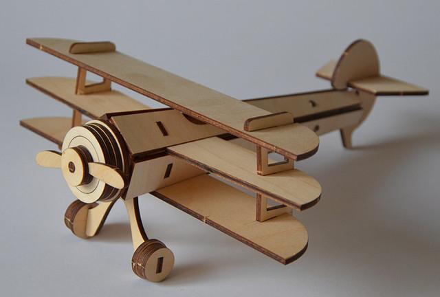 "3Д пазлы ""Самолет триплан"""
