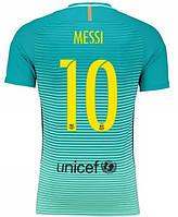 Футбольная форма Барселона Месси (Messi) 2016-2017 Гостевая 125 (на рост 120-125 см)