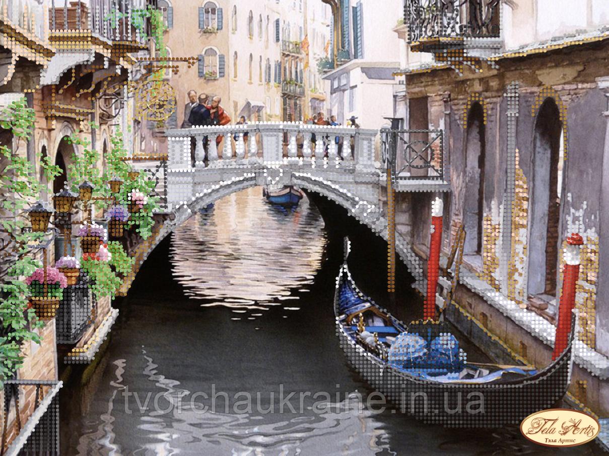 Схема для вышивки бисером Живописная Венеция