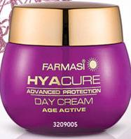 Денний крем для обличчя Farmasi Hyacure 35+, 50 ml.