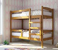 Кровать двухъярусная Мира из натурального дерева 90х190 см без ящика
