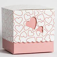 """Упаковка подарочная для чашки """"Сердце """""""