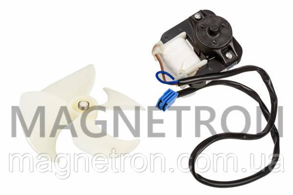 Двигатель вентилятора c крыльчаткой холодильной камеры Indesit ORM-10081C2 C00383336 (C00269887), фото 2
