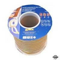 Уплотнитель резиновый Sanok P-тип (коричневый) 9*5,5мм 100м.