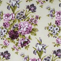 Ткань прованс в цветы для обивки мебели