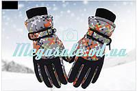 Перчатки горнолыжные женские Burn (перчатки лыжные): 6 цветов