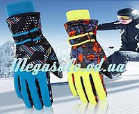 Перчатки горнолыжные женские Burn (перчатки лыжные): серый