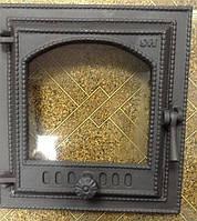 Чугунные дверки для камина svt 410