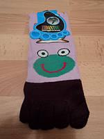 """Женские носки с пальчиками, сиреневые"""" цветом  Лягушкака """""""