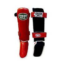 Защита для ног (голень+стопа) Green Hill Classic (красная)