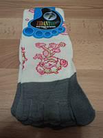 """Женские носки с пальчиками, белые цветом """" Обезьяной """""""