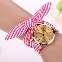 Жіночі кольорові наручний годинник Geneva, Рожевий 1, фото 1