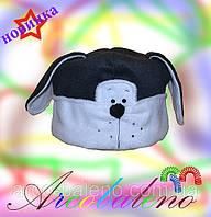 Тёплая шапка *бодрый щенок*